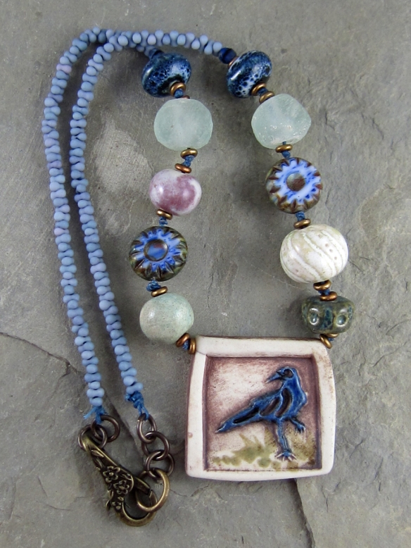 Handmade necklace by Linda Landig