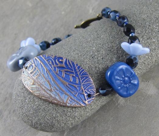 Cornflower Blue Bracelet
