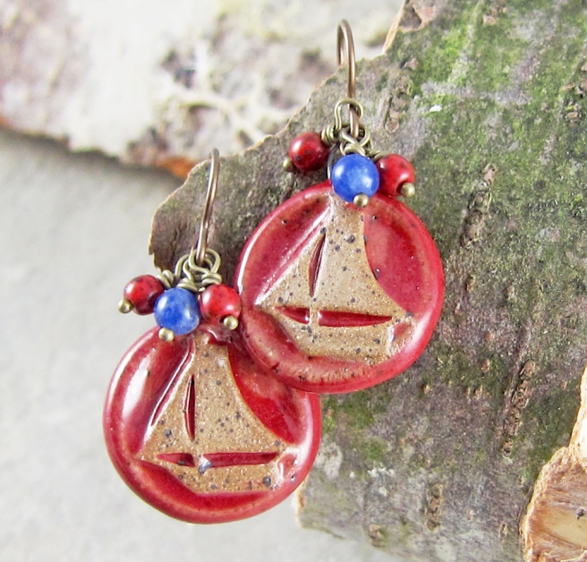 Sail Away Earrings 1