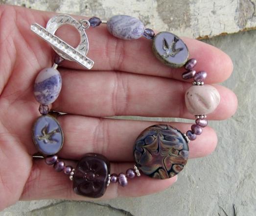 handmade artisan bracelet by Linda Landig Jewelry