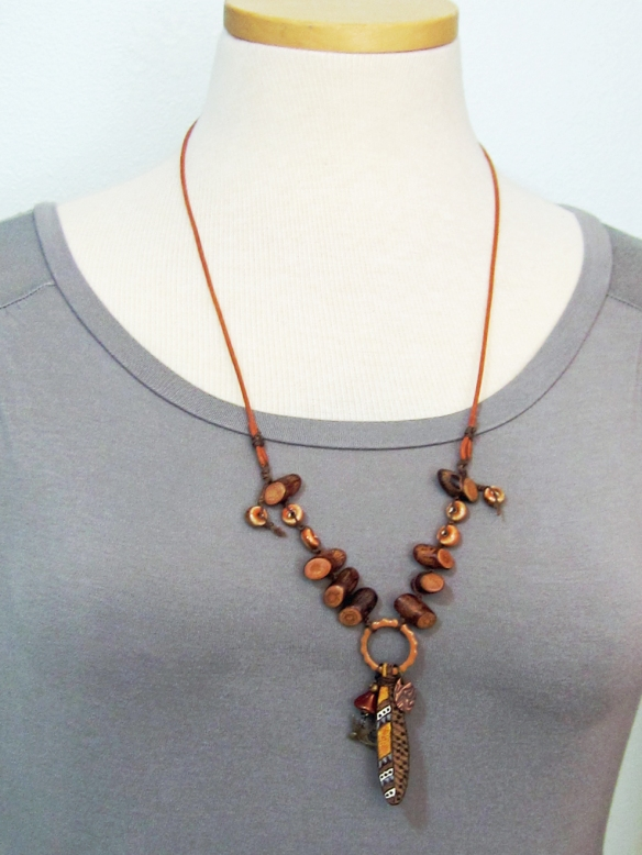 handmade necklace by Linda Landig Jewelr