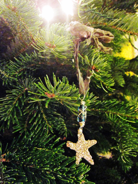 Sandi's ornament on our Christmas tree.