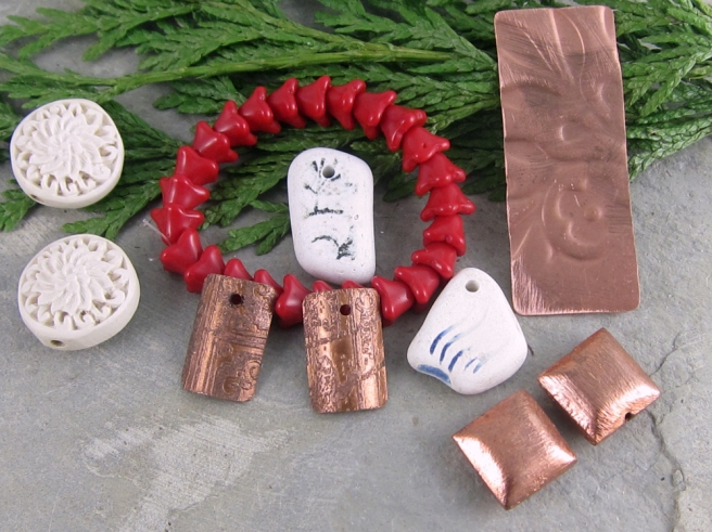 Bead and component gifts from Sandi Volpe.