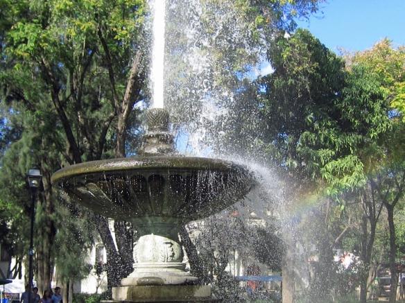 Llano Park, Oaxaca Mexico