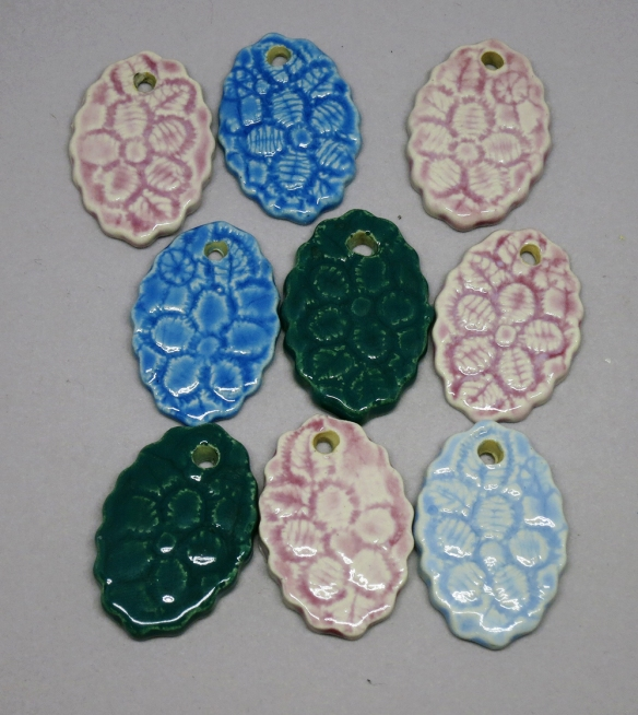 Lace Flower Pendants 1a