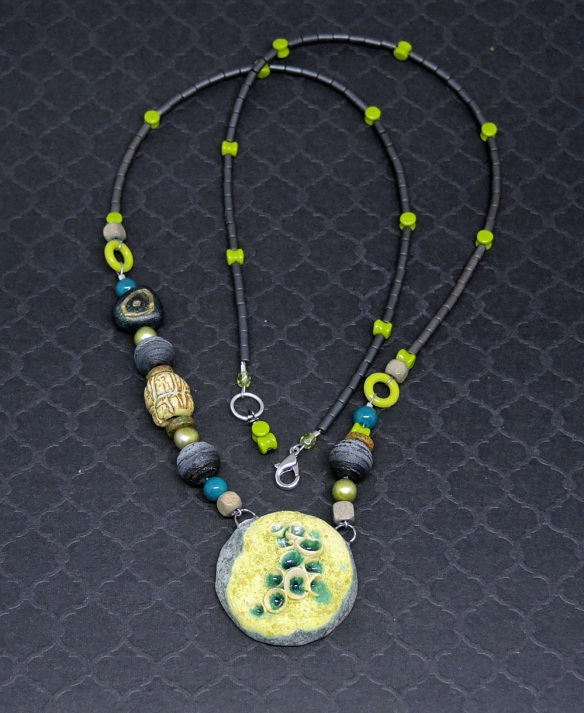 Lichen Necklace 5