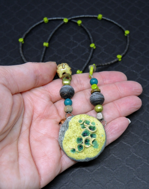 Lichen Necklace 6