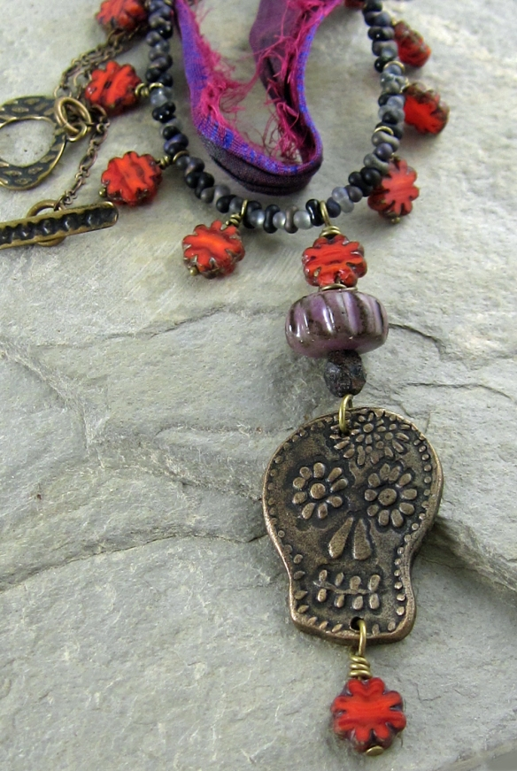 Sugar Skull Necklace 3