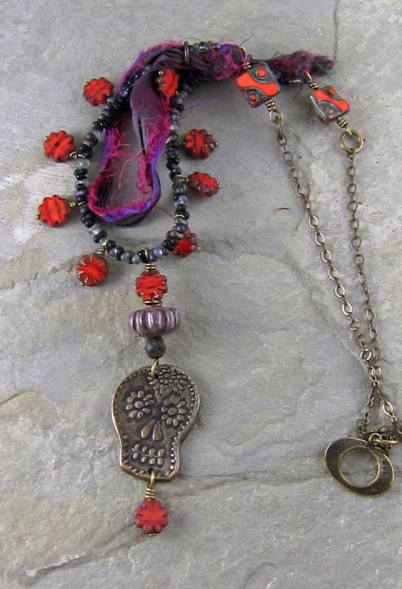 Sugar Skull Necklace 4