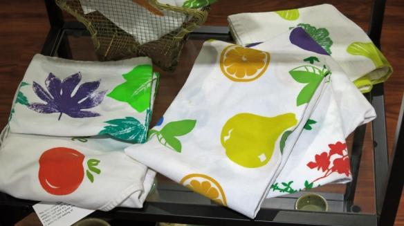 Block printed linens