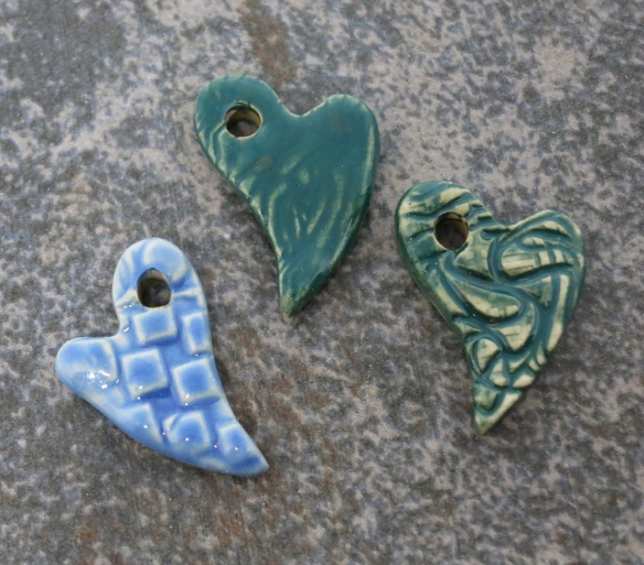 3 Little Heart Charms 5