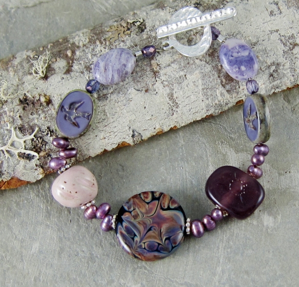 Plum Delight Bracelet 1