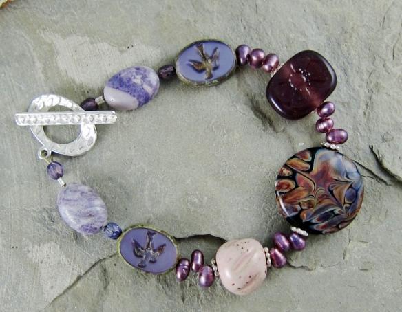 Plum Delight Bracelet 3b