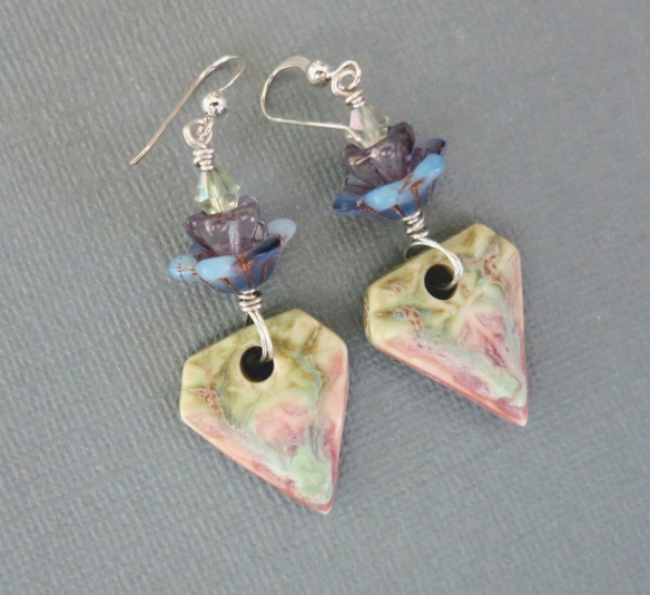 English Tea Garden Earrings 2b