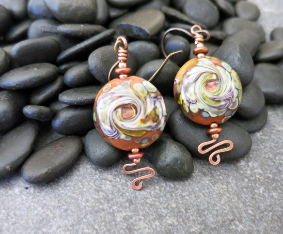 Eye Of The Storm earrings 2