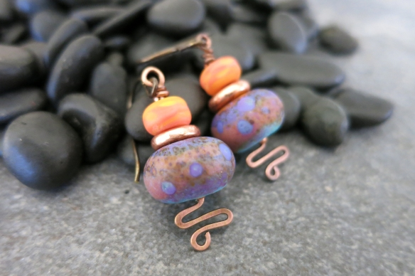Sunset In The Tropics earrings 3
