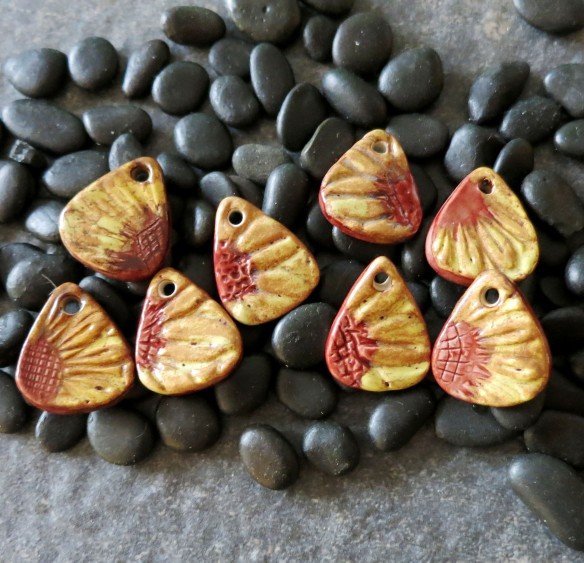 Sunflower Pendants