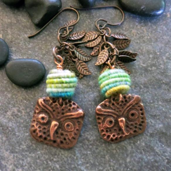 Owl Earrings 6a
